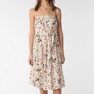 Pinup Retro Print Urban Outfitters Dress